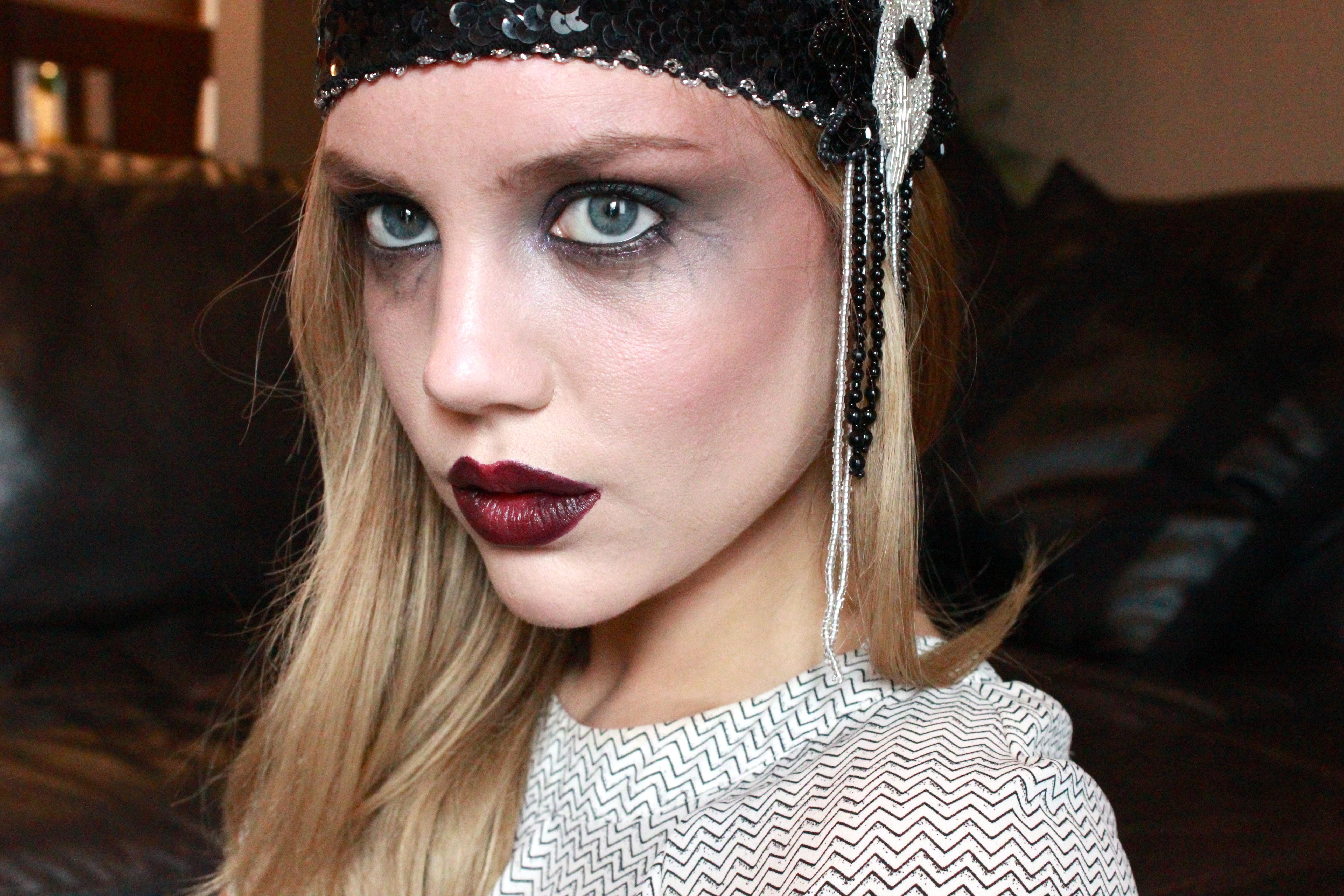 Dead Flapper Makeup  Elanna Pecherle-4753